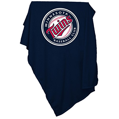 Fleece Minnesota Twins Pullover - Logo Brands MLB Minnesota Twins Sweatshirt Tackle Twill Blanket