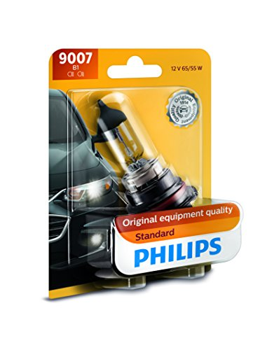 Philips 9007 Standard Headlight Bulb, Pack of 1