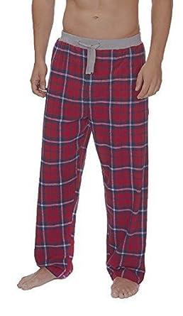 ganz nett fantastische Einsparungen schnelle Farbe Herren Cargo Bay 100% Baumwolle Flanell Pyjamahose - Rot Kariert, XL