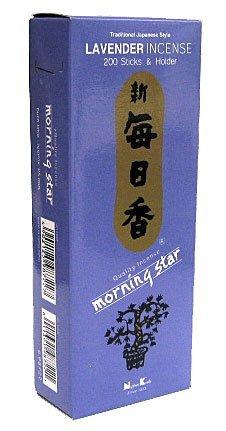 Morning Star Lavender Incense Sticks (200) by Morning Star