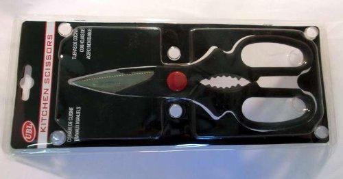 Black Multi-purpose Kitchen Scissors BestValueStockOnline.com