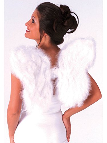 Soft Feathered Angel Wings ()
