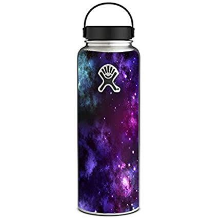 Skin decal vinyl wrap for hydro flask 40 oz wide mouth space gasses