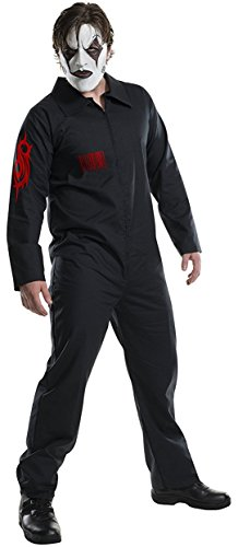 Rubie's Men's Slipknot Costume, Multi, (The Rock Halloween Costume 2016)
