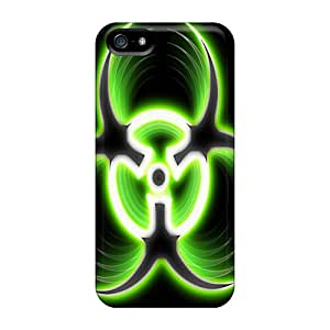 Tpu ShinnyStore Shockproof Scratcheproof Biohazard Hard Case Cover For Iphone 5/5s