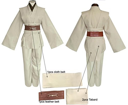 2ca3d42275 Jual Amayar Men Tunic Hooded Robe Cloak Knight Fancy Cool Cosplay ...