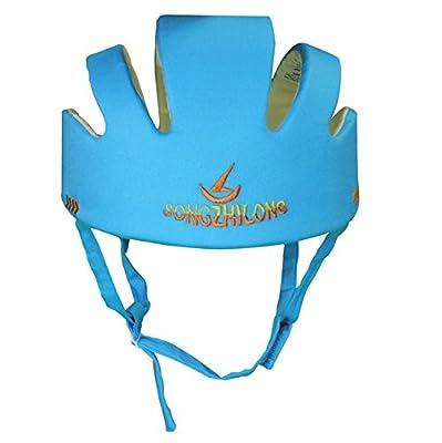 Vellhater Adjustable Baby Head Baby Helmet Protector Toddler Helmet-Blue