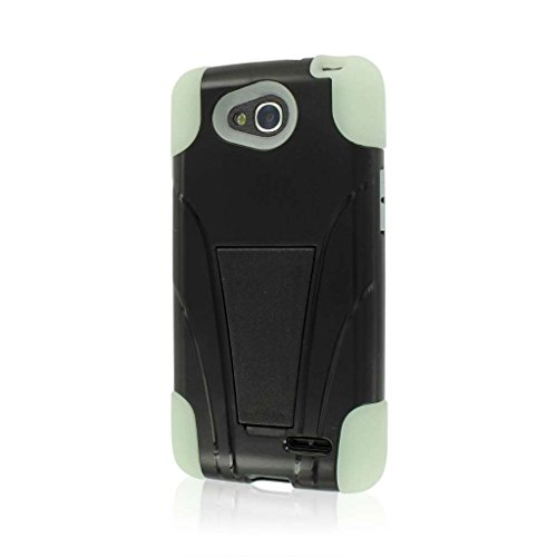 X Series Kickstand Case for LG Optimus L90 - Retail Packaging - Glow In the Dark ()