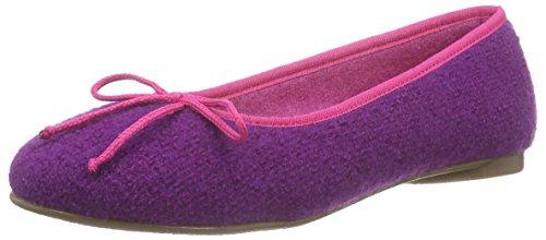 Stegmann 403 Damen Geschlossene Ballerinas Violett (purple 8961)