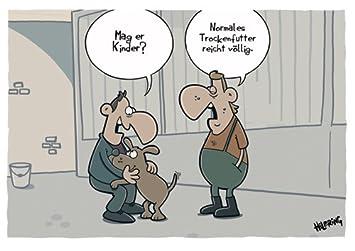 Postkarte A6 Cartoon Von Modern Times Mag Er Kinder