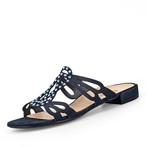Paul Green 7154-012 - Zapatos de Vestir de Piel Para Mujer Azul