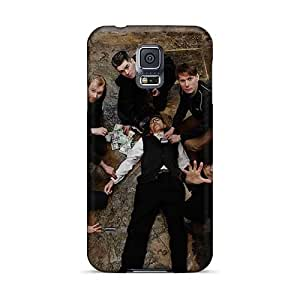 Samsung Galaxy S5 Jll15720MFTP Allow Personal Design HD Franz Ferdinand Band Pattern Durable Hard Phone Cover -TammyCullen