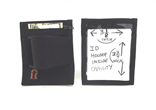 Id holder zipper pouch