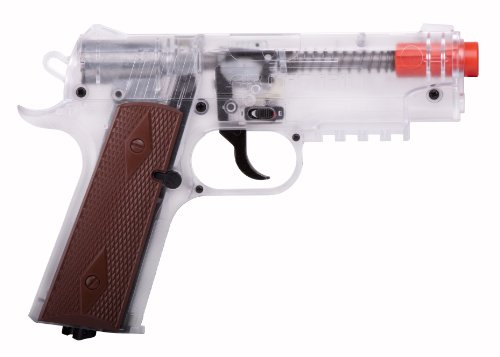 Crosman Airsoft Pistol Black Clear