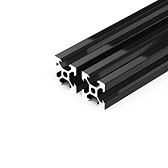 Black 400mm CNC 3D Printer ZYLtech 2020 Aluminum T-Slot Aluminum Extrusion