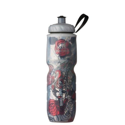 Polar Bottle Rose Insulated Water Bottle, 24-Ounce by Polar Bottle