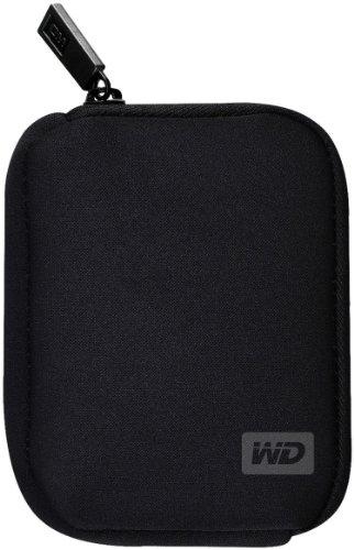 Western Digital My Passport Ultra Carrying Case Schutztasche für externe Festplatten schwarz, Optimaler Schutz für Ihre My Passport Ultra