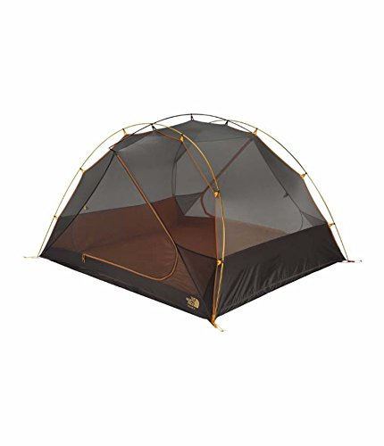 The north Face TALUS 4 Tent, GOLDEN OAK/SAFFRON YELLOW