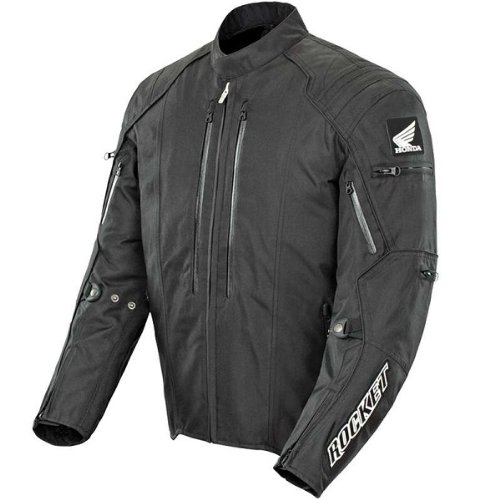 Joe Rocket Honda CBR Textile Jacket (XX-Large) (Black/Black)