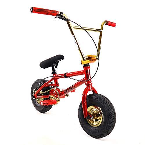 FatBoy Mini BMX Bicycle Freestyle Bike Fat Tires, Boy, Wulf A4