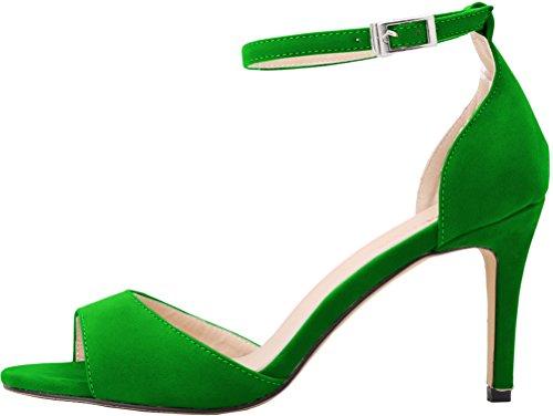 green Toe CFP CFP femme Peep Peep rXXtw
