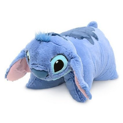 Disney Stitch Pillow Pal Pet Plush Doll - Disney Theme Park Authentic]()