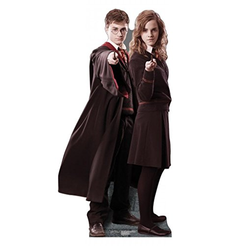 Harry Potter & Hermione Granger Cardboard Cutout Poster