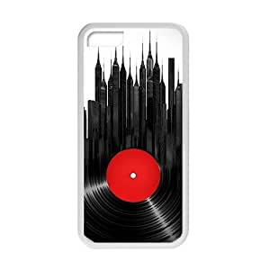 Creative Disk City Cell Phone Case For Iphone 6 plus (5.5)