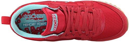 Skechers Originals Og 85 Ditzy Dancer, Zapatillas de Deporte para Mujer Rojo (Rdaq)