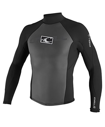O'Neill Wetsuits Men's Hammer 2/1mm Jacket, Black, Small