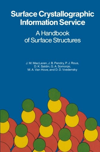 Surface Crystallographic Information Service: A Handbook of Surface Structures
