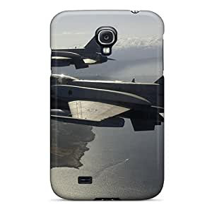 Mialisabblake Perfect Tpu Case For Galaxy S4/ Anti-scratch Protector Case (patro Plane)