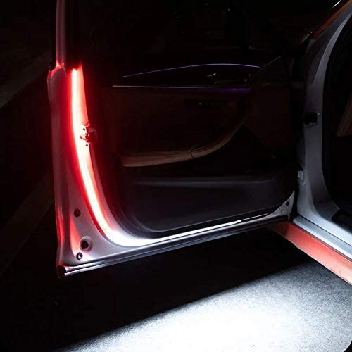 YZCH Car Door Streamer Warning Light Anti-Collision LED Door Side Light Strobe Door Warning Light