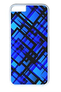 Blue Vector Custom iPhone 6 Case Cover Polycarbonate White