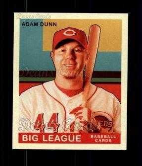2007 Upper Deck Goudey Red Backs # 4 Adam Dunn Cincinnati Reds (Baseball Card) Dean's Cards 8 - NM/MT Reds