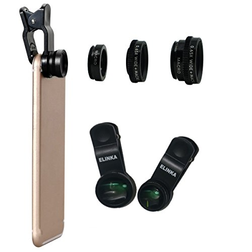3 in 1 Macro/Fish-eye/Wide Universal Clip Lens (green) - 3