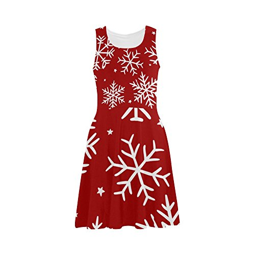 Christmas Snow Flake Sundress
