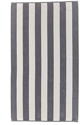 Marine Brazilian Towel Extra Heavy And Large 40X72 Inches Soft Absorbent Pool Boat Towel 100 Percent Yarn Dyed (Gray) [並行輸入品] B07RHJQL9G
