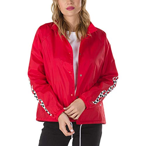 Checker Flame 2018 fall Racing Jacket Vans Red 0TRwpqn