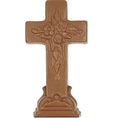 Philadelphia Candies Solid Milk Chocolate Easter Cross, 10 O
