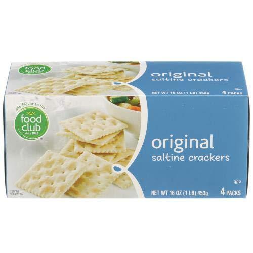 Food Club, Saltines Cracker, Original (Pack of 36)