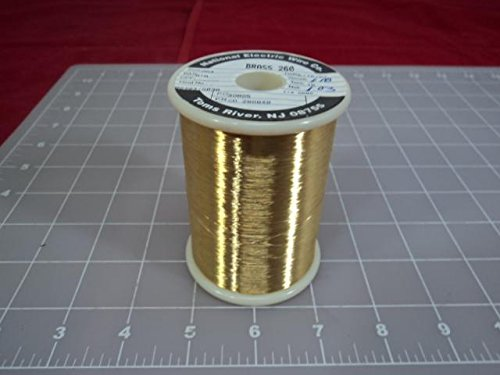 LOT OF 30 NATIONAL ELECTRIC WIRE CD280848 BRASS 260 WIRE T10865