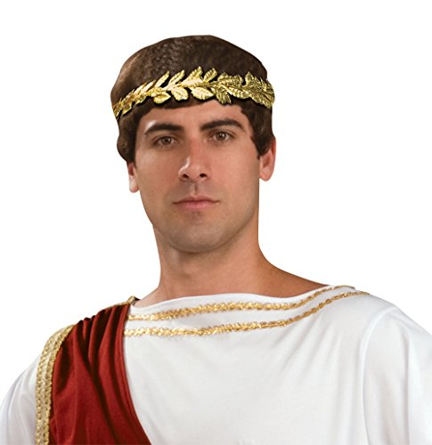 Forum Novelties Roman Laurel Wreath Gold Leaf Headband Men's Costume Accessory -