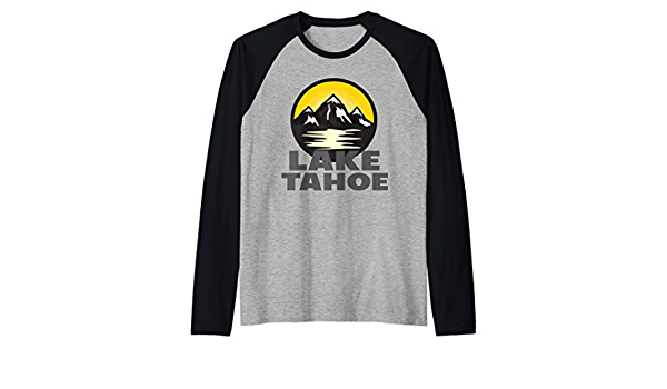Lake Tahoe Native Womens Long Sleeve T-Shirts Cotton Tops Tee