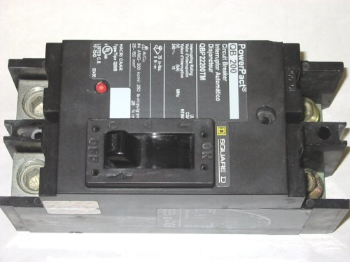 SCHNEIDER ELECTRIC Molded Case Circuit Breaker 240-Volt 200-Amp QBP22200TM Pnlbd Enclosure/Box T-3R/12 92H 26W by Schneider Electric