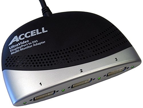 Accell DisplayPort to 3x DVI Multi-Display Adapter