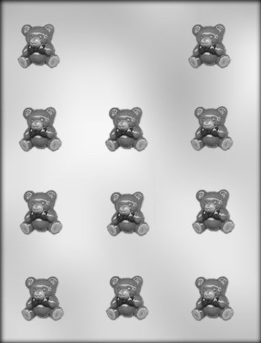 CK Products 1-1/8-Inch Baby Bear Chocolate Mold (Bear Teddy Chocolate Molds)