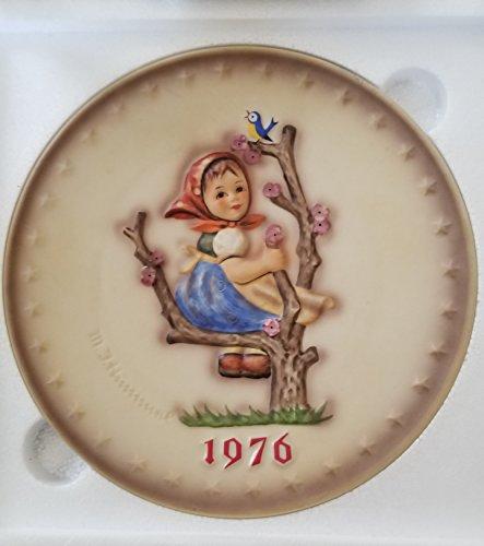 HTF--1976 Goebel Hummel Annual Plate in Original Box -- Mint Condition!!! (Hummel Mint)