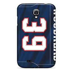 New Design Shatterproof WDt10800ytwH Cases For Galaxy S4 (new England Patriots) Black Friday