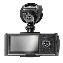 Gps Dual Lens Camera Hd Car Dvr Dash Cam Video Recorder G-Sensor